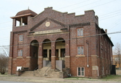 English: 1918 African Methodist Episcopal Church, Cairo, Illinois