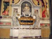 English: * Description: Tomb of Galileo Galilei (Location: Santa Croce, Florence, Italy.)