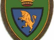 Coat of Arms of the Taurinense Brigade, Italian Army