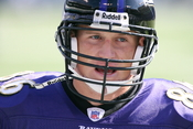 , American football player for the Baltimore Ravens