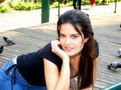 Brazilian actress Raquel Nunes