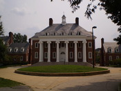 English: Talbot Hall on the campus of the University of Maryland.