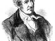 sketch of James Fenimore Cooper