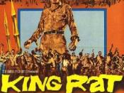 Film poster for King Rat - Copyright 1965, Columbia Pictures