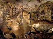 A view of the Big Room in Kartchner Caverns