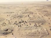 Français : Le site archeologique des Kellia (Egypte)