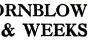 Hornblower & Weeks logo