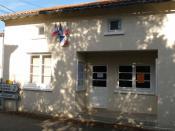 Français : mairie de Hautefaye, Dordogne, France