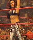 Melina as the WWE Women's Champion.