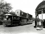 Sydney tram, c.1885