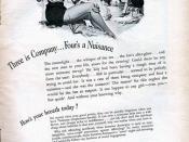 Listerine antiseptic 1950