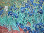 Irises, Vincent van Goph, 1889