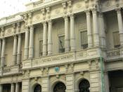 Español: Escuela normal Sarmiento, Callao 450, Buenos Aires, Argentina.