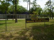 English: North Forest Ninth Grade Center - Formerly Oak Village Middle School