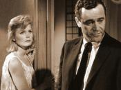 Jack Lemmon as Joe Clay and Lee Remick as Kirsten Arnesen Clay.