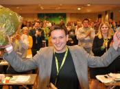 Johannes Rindal valgt til leder i Senterungdommen