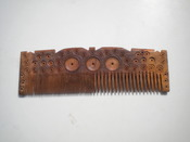 English: Punjabi Wooden comb made in Tonsa in Punjab Pakistan