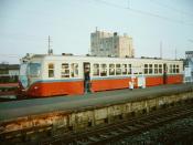 Ōmoto Station, Okayama Rinkō Railway Line, 1984.