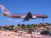 50bi - American Airlines Boeing 757-223; N664AA@SXM;05.02.1999