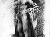 Sargent, John Singer (1856-1925) - Nudo 1