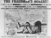 One in a series of posters attacking Radical Republicans on the issue of black suffrage, issued during the Pennsylvania gubernatorial election of 1866.