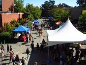 English: The Lansdowne Campus of Camosun College on the first day of classes, September 2011