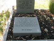 Eliyahu M. Goldratt's grave