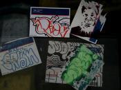 deos saro erbin stickers