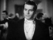 Cropped screenshot of Laurence Olivier from the trailer for the film Pride and Prejudice.