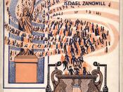 Cover of Theater Programme for Israel Zangwill's play