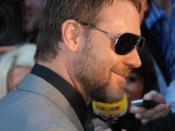 Russell Crowe at the State of Play premiere in London.