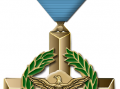 The Air Force Cross, a medal of the .