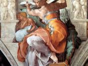 The Libyan Sibyl from Michelangelo's Sistine Chapel ceiling