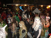 Halloween revelers in Austin, Texas.