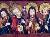 Polski: Jezus z apostołami