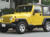 1997-2006 Jeep Wrangler photographed in College Park, Maryland, USA. Category:Jeep TJ