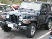 2003-2006 Jeep Wrangler Rubicon photographed in USA. Category: Jeep TJ