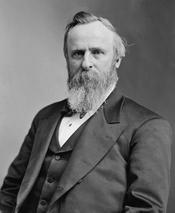 English: Rutherford B. Hayes (October 4, 1822—January 17, 1893), 19th President of the United States and 29th and 32nd Governor of Ohio Español: Rutherford B. Hayes (4 de octubre de 1822—17 de enero de 1893), 19 o Presidente de los Estados Unidos y 29 o y