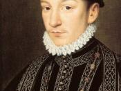 Painting of King Charles IX of France.