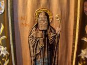 Saint Hilda the Snake Charmer