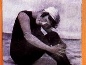 Annette Kellerman in unitard like swimwear, from