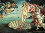 A definition of depilated Beauty: The Birth of Venus (1486), by Sandro Botticelli.