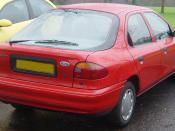 Ford Mondeo Mk I Liftback(MY1993 - 1996)