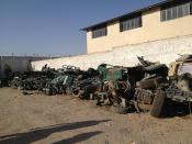 Destroyed Vehicles Included in Lists of Vehicles To Be Serviced; At Herat Regional Maintenance Center