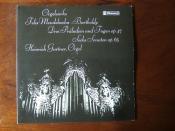 Mendelssohn - Orgelwerke op.37, op.65, Heinrich Gurtner, Orgel