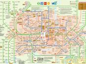 Munich's Public Transport Network 2006 Français : Réseau des transports publics de Munich en 2006