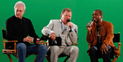 English: Brent Spiner, William Shatner, and Levar Burton at the Tweet House during Comic-Con in San Diego, California.