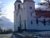 English: Corpus Christi Parish, the Roman Catholic Church in Northern Bay , Newfoundland, Canada.