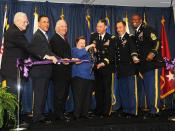 Defense Information Systems Agency cuts ribbon