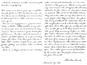 English: Facsimile of Abraham Lincoln's Gettysburg Address written out in his hand, belonging to Alexander Bliss. This image was constructed by myself from three page facsimiles available on Wikisource to approximate the original illustration in Wilson's